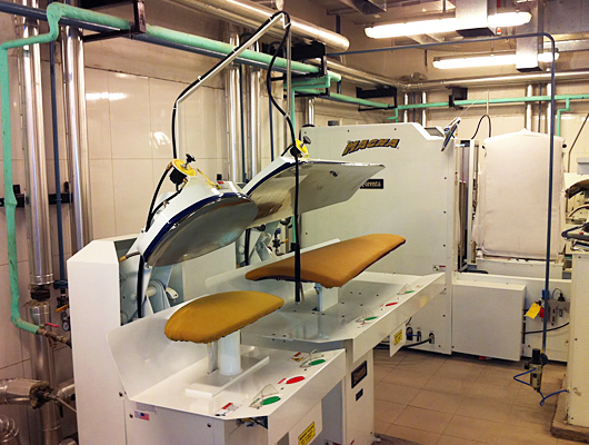 Forenta Laundry Presses - Dry Cleaning Equipment